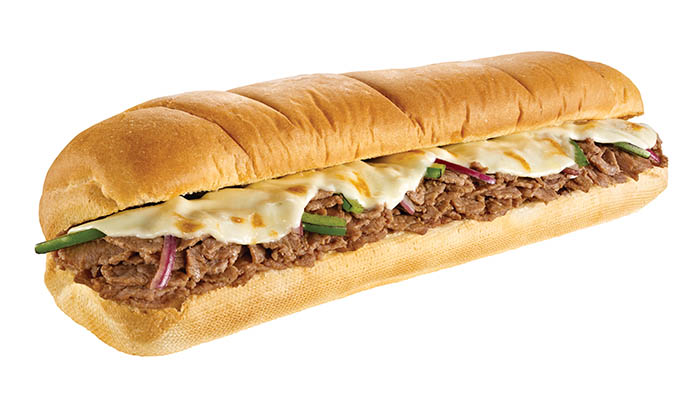 Adult cheese steak